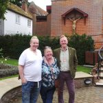 Trevor, Jane and Antony
